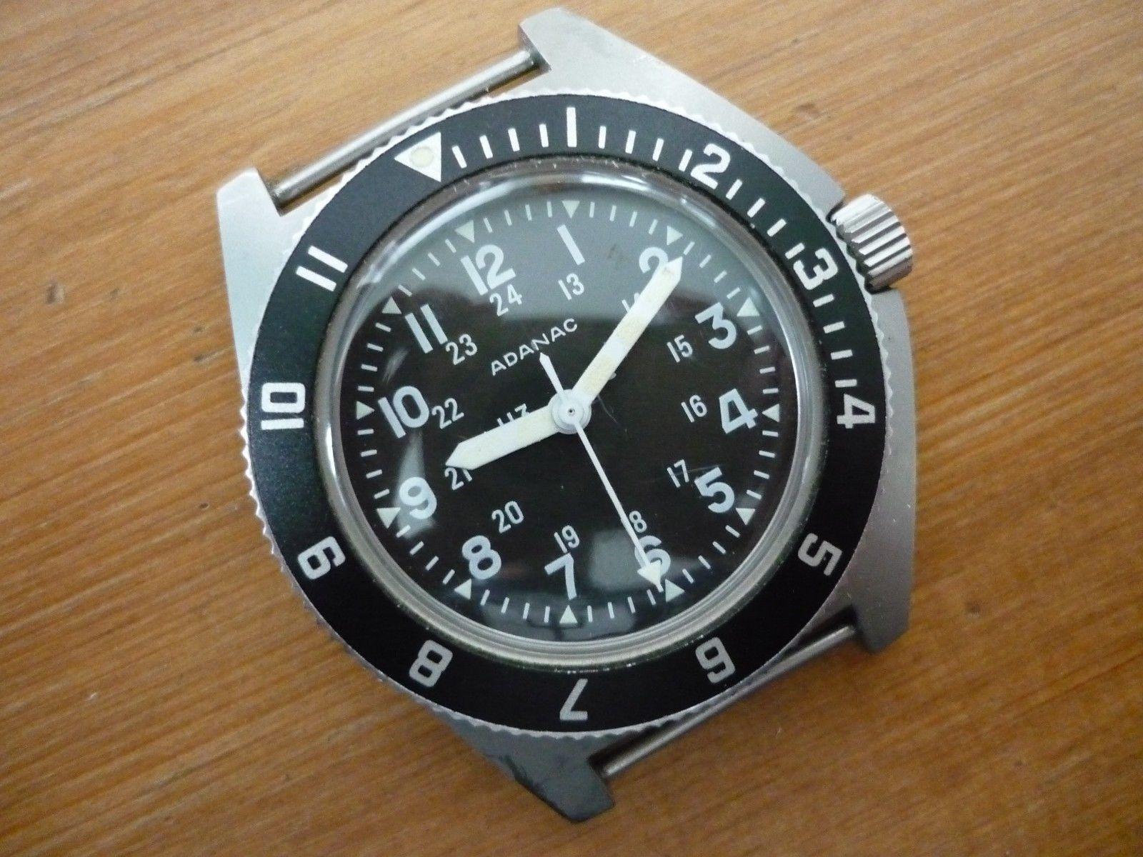 Adanac Military Diver/Navigator's Watch